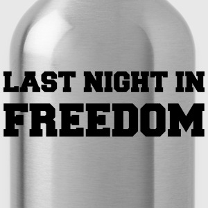 Last night in freedom T-Shirts - Water Bottle