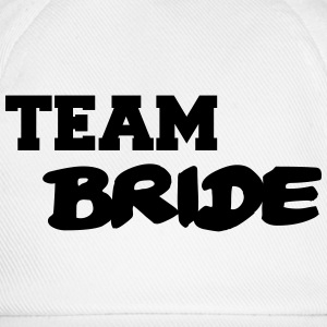 Team Bride T-shirts - Basebollkeps