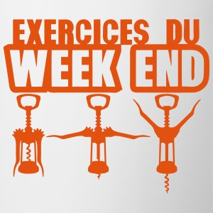 exercices week end tire bouchon gym 1912 Tee shirts - Tasse