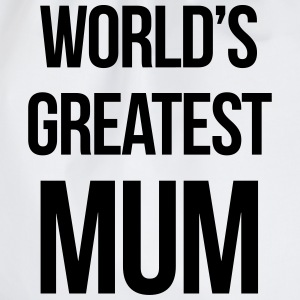 World's Greatest Mum T-shirts - Gymtas