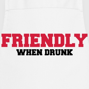 Friendly when drunk T-skjorter - Kokkeforkle