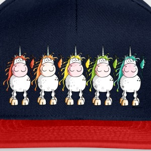 Funny Unicorns Long Sleeve Shirts - Snapback Cap