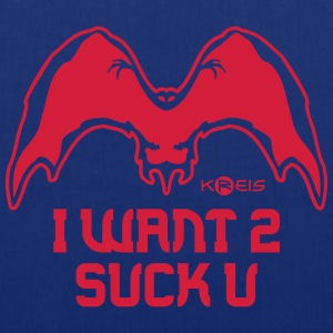 I Want To Suck You _ byTed - Borsa di stoffa