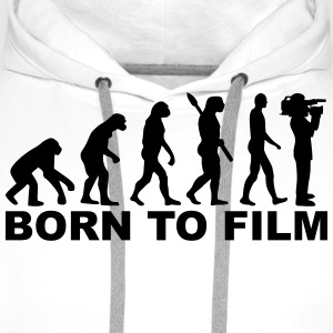 Evolution Film T-Shirts - Männer Premium Hoodie