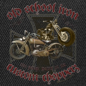 Oldschool Iron Custom Choppers T-Shirts - Snapback Cap