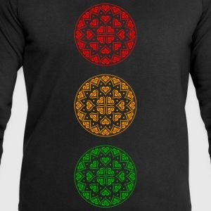 Traffic Light Party - Men's Sweatshirt by Stanley & Stella