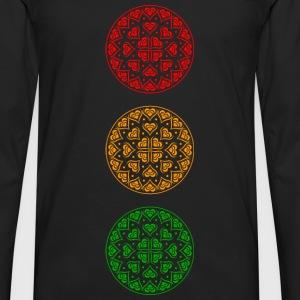 Traffic Light Party - Men's Premium Longsleeve Shirt