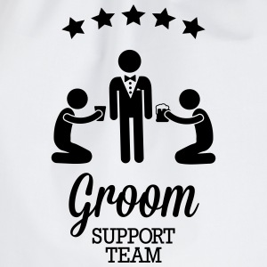 Groom Support Team T-Shirts - Drawstring Bag