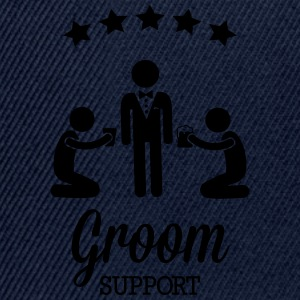 Groom Support Bier T-Shirts - Snapback Cap