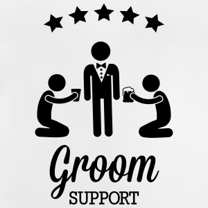 Groom Support Bier Long Sleeve Shirts - Baby T-Shirt