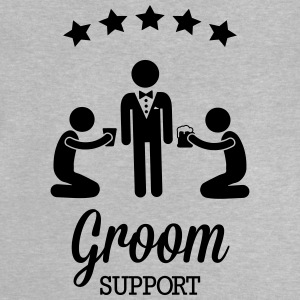 Groom Support Bier Langarmshirts - Baby T-Shirt