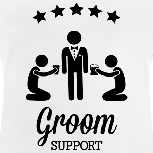 Groom Support Bier Shirts - Baby T-Shirt