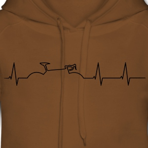 Racing heartbeat T-Shirts - Women's Premium Hoodie