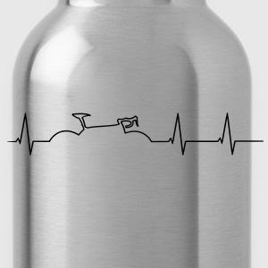 Racing heartbeat T-Shirts - Water Bottle