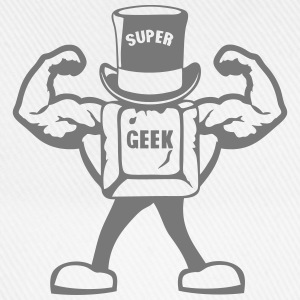 super geek personnage touche muscle 0 Tee shirts - Casquette classique