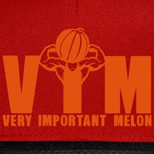 vim very important melon bodybuilder 16 Tee shirts - Casquette snapback