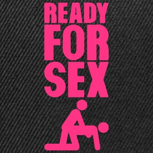 ready for sex levrette position Tee shirts - Casquette snapback