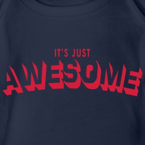 just awesome Shirts - Baby bio-rompertje met korte mouwen