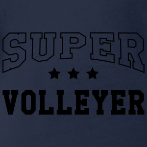 Super Volleyer T-Shirts - Baby Bio-Kurzarm-Body