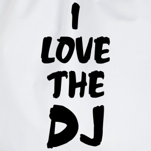 I Love The DJ T-Shirts - Drawstring Bag