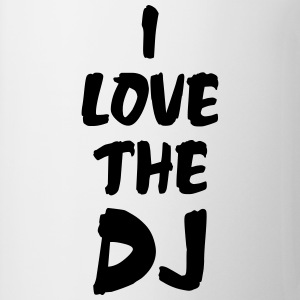 I Love The DJ T-Shirts - Mug