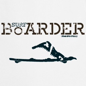 surf boarder fr Tee shirts - Tablier de cuisine