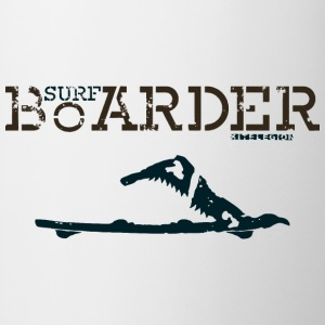 surf boarder nl T-shirts - Mok