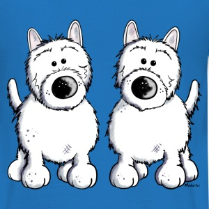 West Highland White Terrier Duo Pullover & Hoodies - Männer T-Shirt