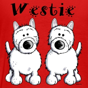 West Highland Terrier Duo Langarmshirts - Männer Premium T-Shirt