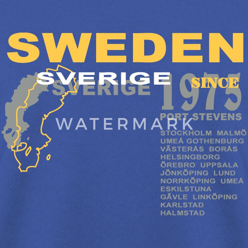 schweden - sweden - sverige Sweat-shirts - Sweat-shirt Homme