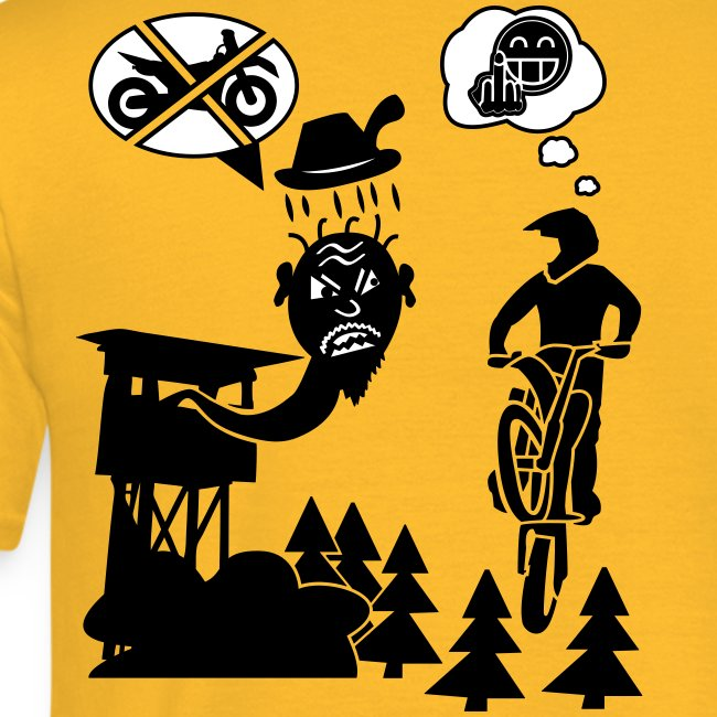 Biker vs. Hunter back HQ colour