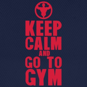 keep calm and go to gym bodybuilding Tee shirts - Casquette classique