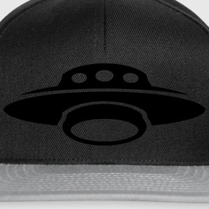 soucoupe volante ovni extraterrestre 1 Sweat-shirts - Casquette snapback