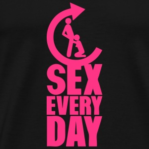 sex every day repeat pipe fellation Sportbekleidung - Männer Premium T-Shirt