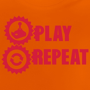 manette play repeat geek joystick 312 T-Shirts - Baby T-Shirt