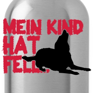 Mein Kind hat Fell Pullover & Hoodies - Trinkflasche