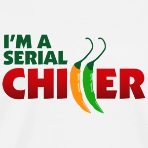 I m a Serial Chiller Bags & Backpacks - Men's Premium T-Shirt