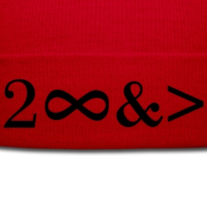 To Infinity and beyond! Love, Valentines Day, Math T-Shirts - Winter Hat