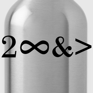 To Infinity and beyond! Love, Valentines Day, Math T-Shirts - Water Bottle