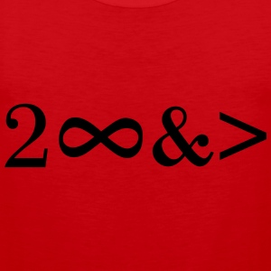 To Infinity and beyond! Love, Valentines Day, Math T-Shirts - Men's Premium Tank Top