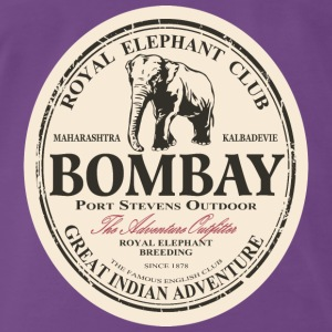 Elefant - Elephant - Indien Tops - Men's Premium T-Shirt