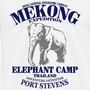 Elefant - Elephant Long sleeve shirts - Men's Premium T-Shirt