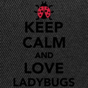 Keep calm and love ladybugs T-Shirts - Snapback Cap