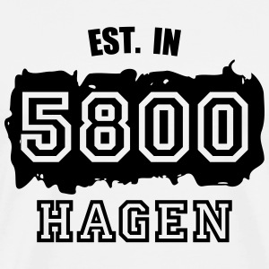 Established 5800 Hagen Langarmshirts - Männer Premium T-Shirt