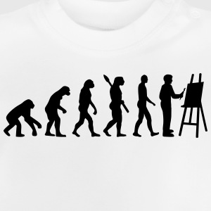 Evolution Maler T-Shirts - Baby T-Shirt