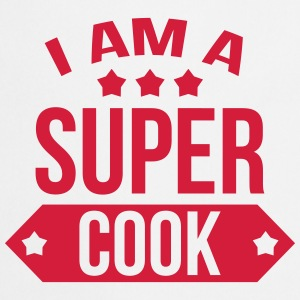 I am a Super Cook Camisetas - Delantal de cocina