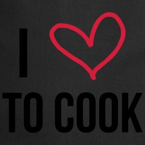 I Love to Cook Camisetas - Delantal de cocina