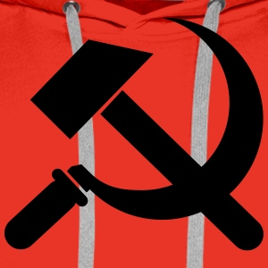communist T-Shirts - Men's Premium Hoodie