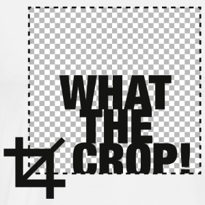 What the Crop! Langarmshirts - Männer Premium T-Shirt