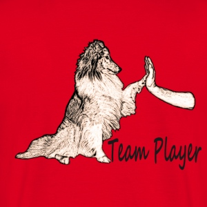 Sheltie Team Player - Männer T-Shirt